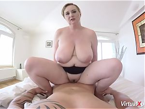 pov ravage with chesty bbw cougar
