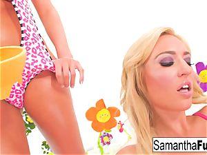 Samantha Saint and Victoria white boink