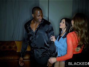 BLACKEDRAW Riley Reid bangs bbc With Her greatest buddy