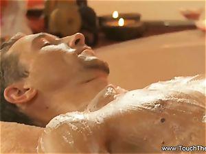 suffering Golden massage mummy ash-blonde