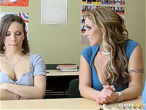 Eva Notty and Lily enjoy fuck a educator