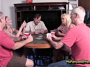 The Neighbour Poker soiree with Ms Paris and pals