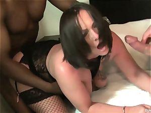 Samantha and Summer Angel mass ejaculation gang-fuck