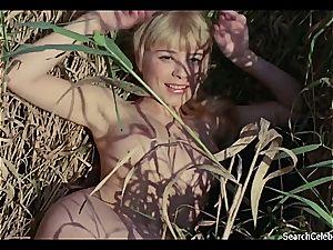 fabulous Ingrid Steeger makes her cooter senses marvelous