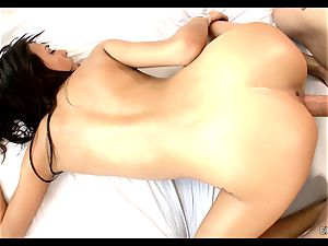 Janice Griffith is filled with penis