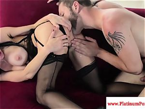 super-fucking-hot Veronica Avluv drills and bj's stiff shaft