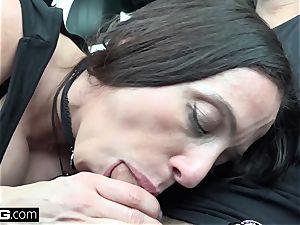 tear up Real mummies Ariella Ferrera demonstrates and humps