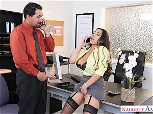 Office slut Priya Price with large bosoms likes rock-hard schlongs