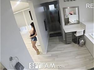 SpyFam Step mommy Ava Addams ravages step son-in-law