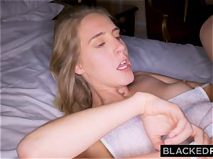 BLACKEDRAW gf Surprises Her beau By tearing up The fattest big black cock In the WORLD