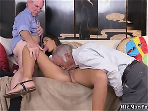 2 senior and blonde doll penetrate first-ever time Going South Of The Border