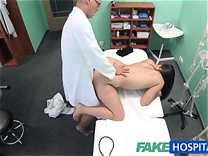 FakeHospital medic explores lovely super-hot luxurious patient