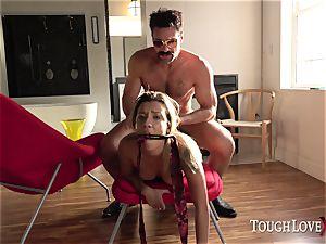 TOUGHLOVEX diminutive Sophia mercy wants to experience Karl