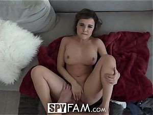 SpyFam curious step sista Dillion Harper screwed