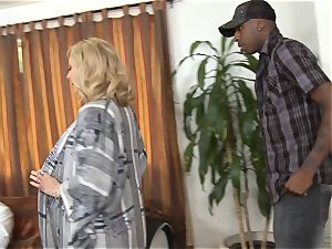 horny Nina Hartley gets her spouse witnessing her smashing