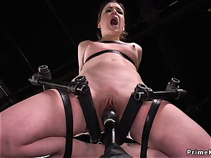 dark haired labia lips tantalized in tool