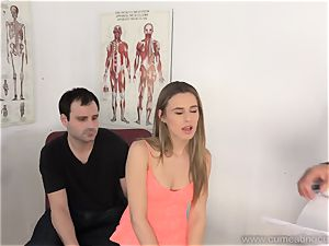 Jillian Gets banged By Real boy in Front of hubby