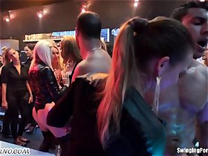 drunk woman when the guzzle prepped for free hook-up