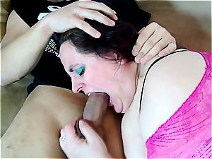 humungous Mona gets pounded by a weirdo