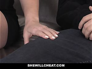 SheWillCheat hot wife Cheats with spouses playmate